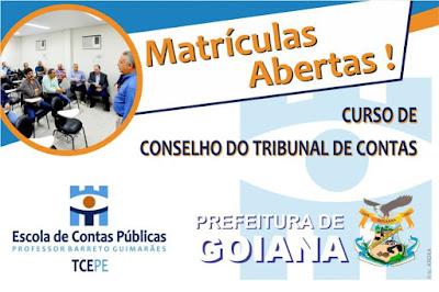 Curso de Gestão Pública para Conselhos Municipais – TCE PE