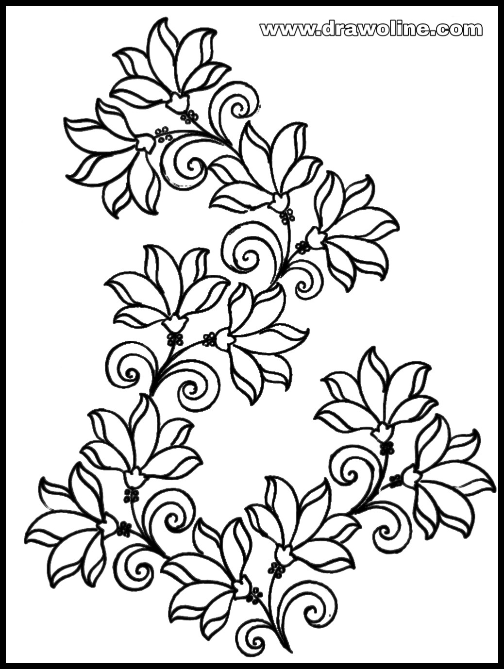 Top 3 New Embroidery Flower Design Sketch Embroidery Designs Outline Patterns,1920s Interior Design Australia