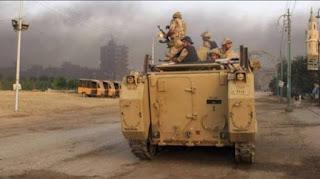 عاجل الجيش يواجة هجمات ارهابية جديدة ويتصدي لها ومقتل 15 ارهابي بشمال سيناء