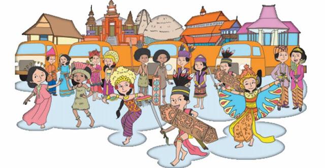 "Materi Kelas 4 SD/MI Bahasa Inggris ""Diversity of My Nation Culture"""