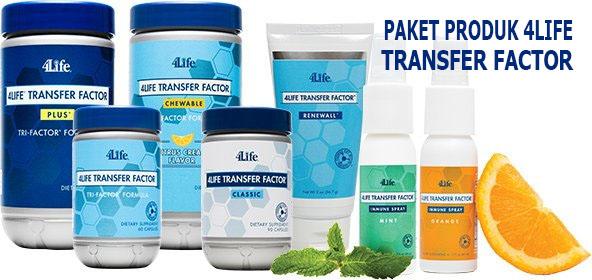 Paket Produk 4Life Transfer Factor