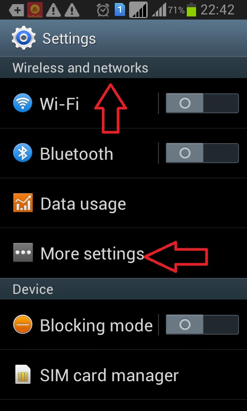 Hotspot for pc to android