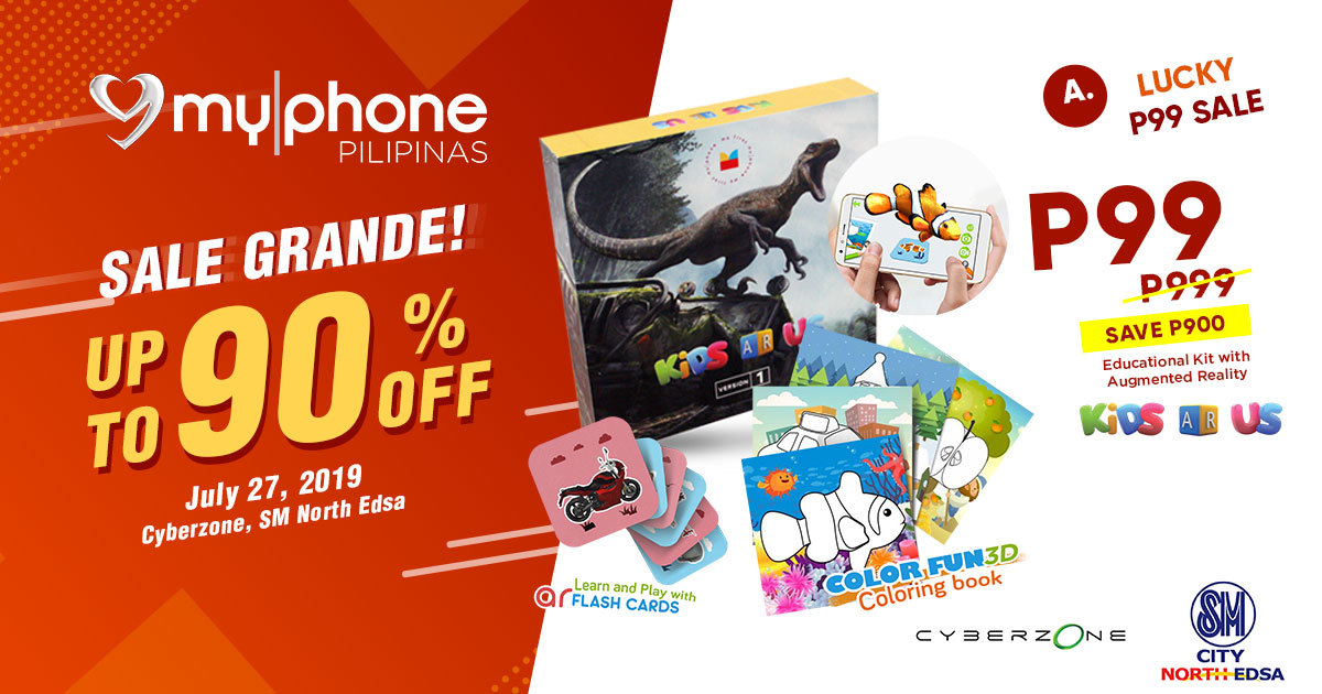 MyPhone SM Cyberzone Partnership Sale, MyPhone Educational Kit Augmented Reality
