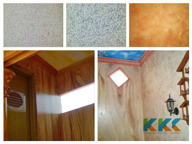 ialah jasa pengecatan dekoratif dinding motif Jasa Cat Dekoratif Murah dan Garansi