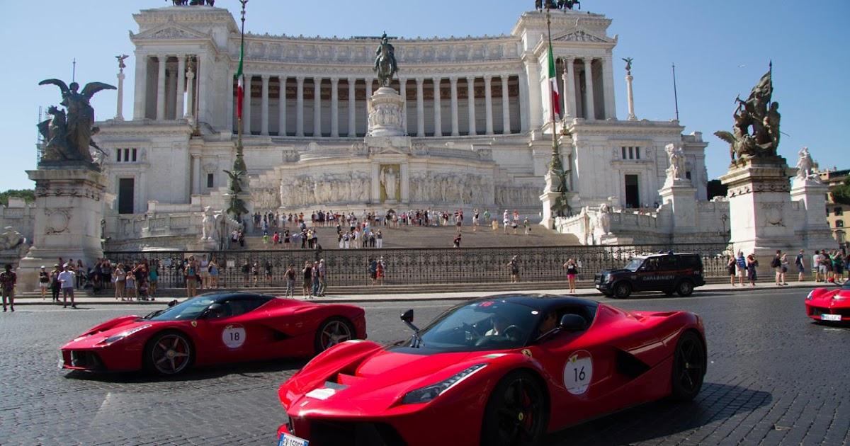 Maranello steeds conquer the gates of Rome!