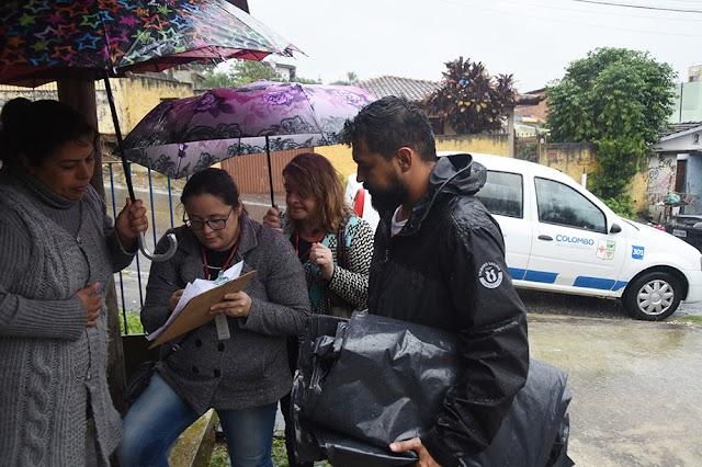 Provopar faz campanha de doações para as vítimas da chuva de granizo