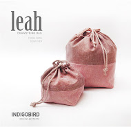 Leah Drawstring Bag pattern