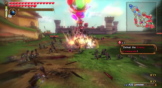 Tingle bomb balloon special Hyrule Warriors