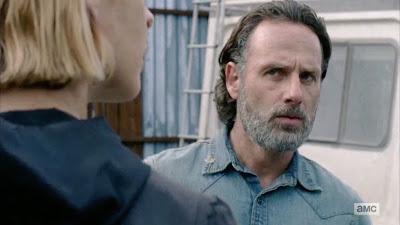 L'espressione di Rick quando scopre che Jadis vuol fare sesso con lui