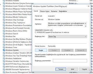 Windows 10 güncellemelerini nasıl kapatabilirim