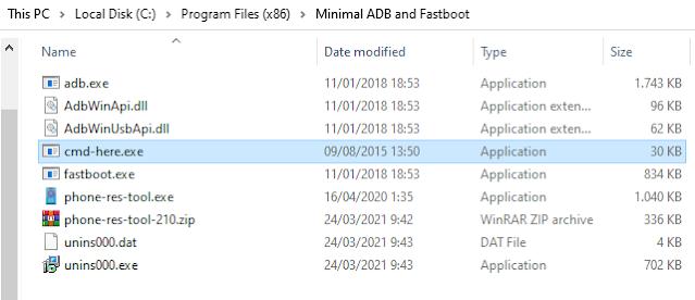 minimal adb and fastboot 1.4.3