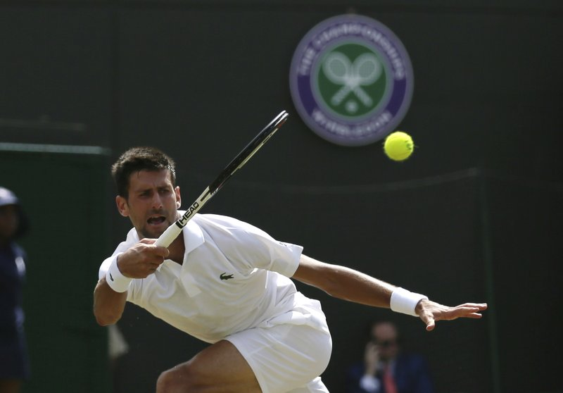 Novak Djokovic Progress to the 3rd Round at Wimbledon, with a 6-2, 6-2, 6-1 Straight Set win Over Adam Pavlasek