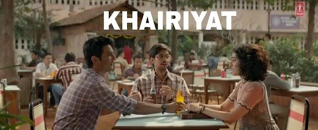 Khairiyat Lyrics in Hindi and English | Arijit Singh