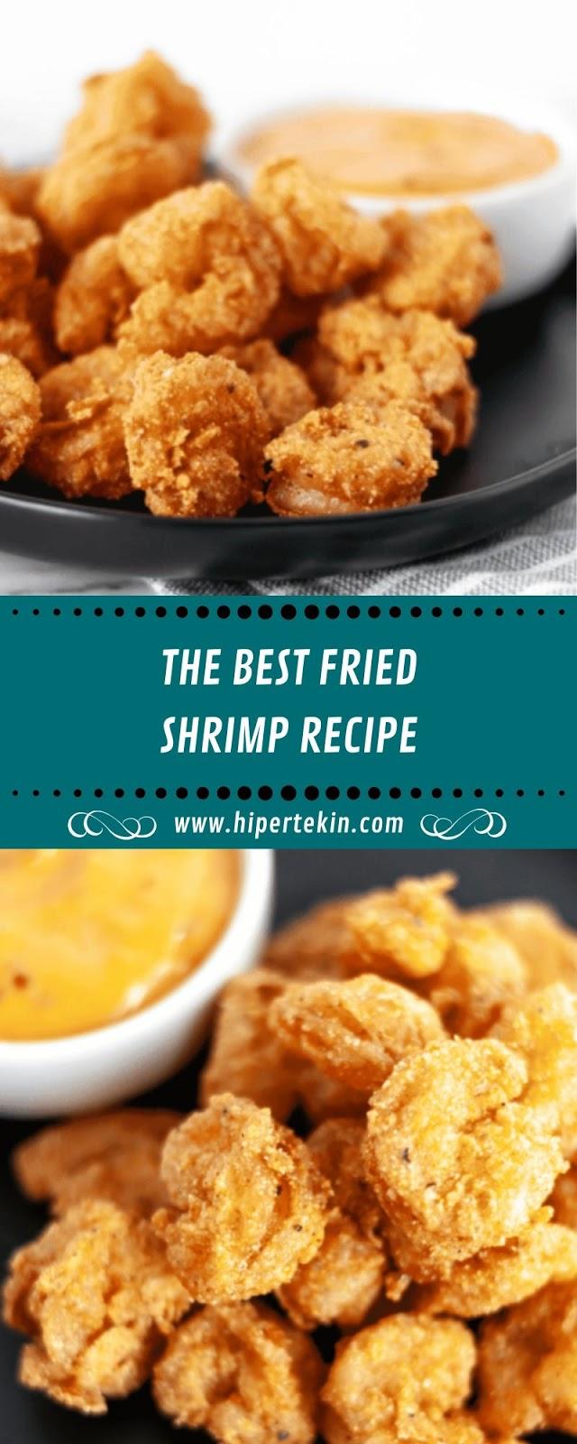 THE BEST FRIED SHRIMP RECIPE