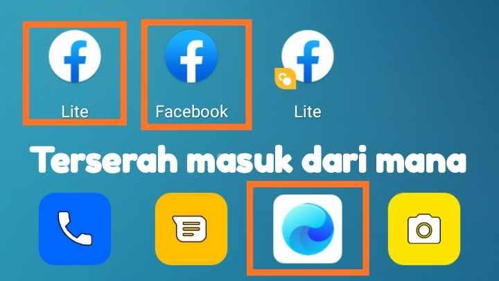 Cara keluar dari Facebook gratis Indosat