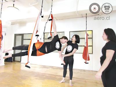 stage yoga aérien