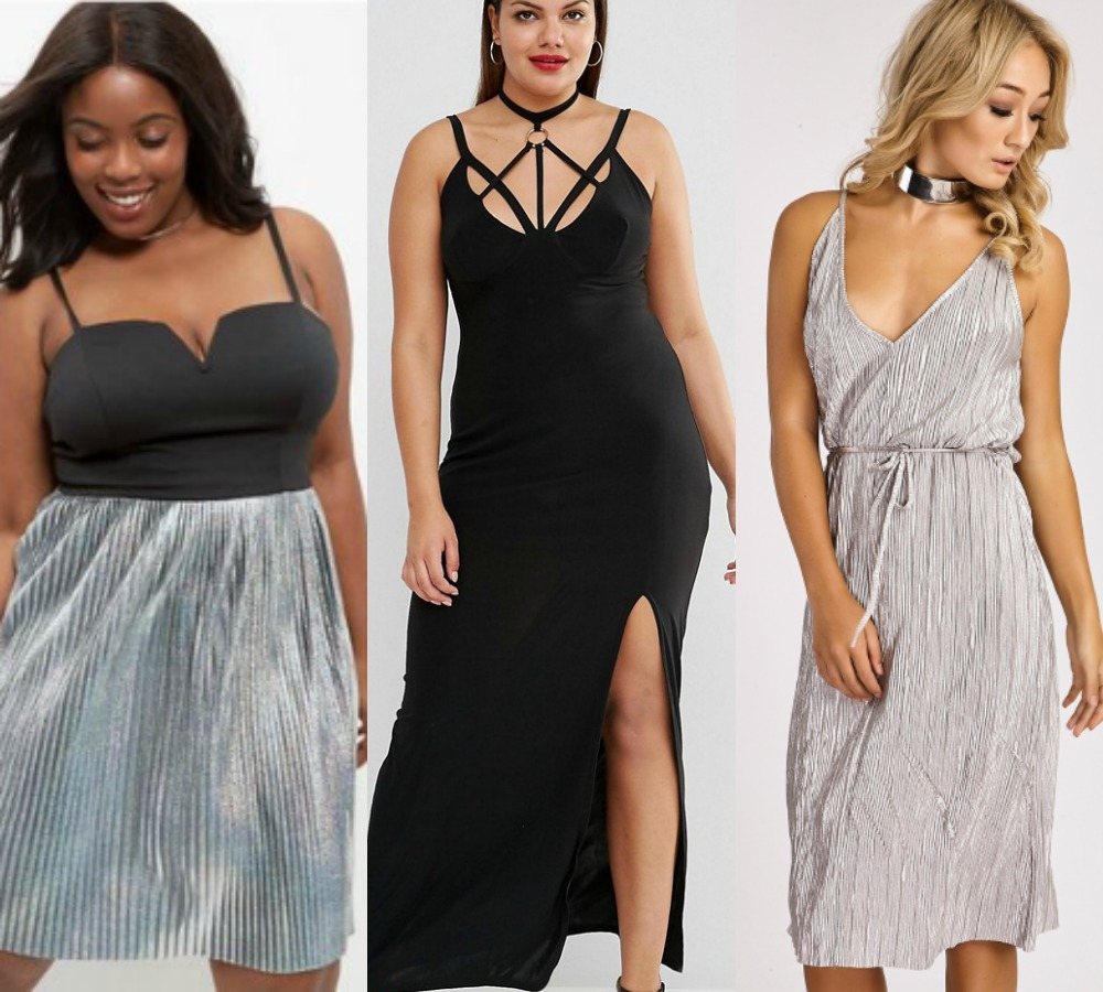 7 affordable plus size party dresses