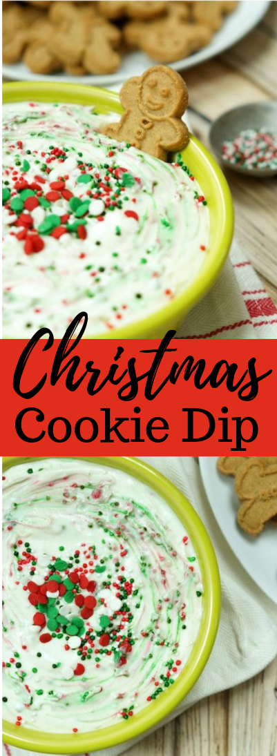 CHRISTMAS COOKIE DIP #dessert