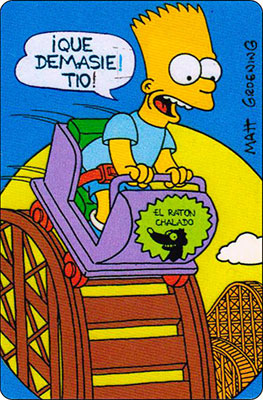 Bollycao The Simpsons Cromo 46