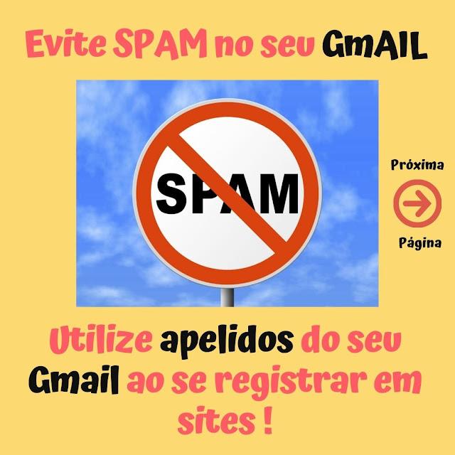 Evite SPAM no seu Gmail