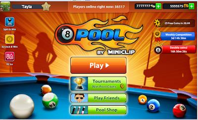 تهكير لعبة بلياردو 8ball pool