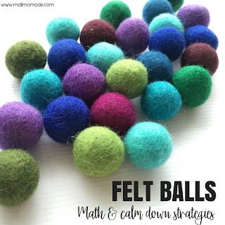 Malimo Mode - Top 10 Favorite Back To School Finds! Felt balls as math manipulatives & calm down strategies!