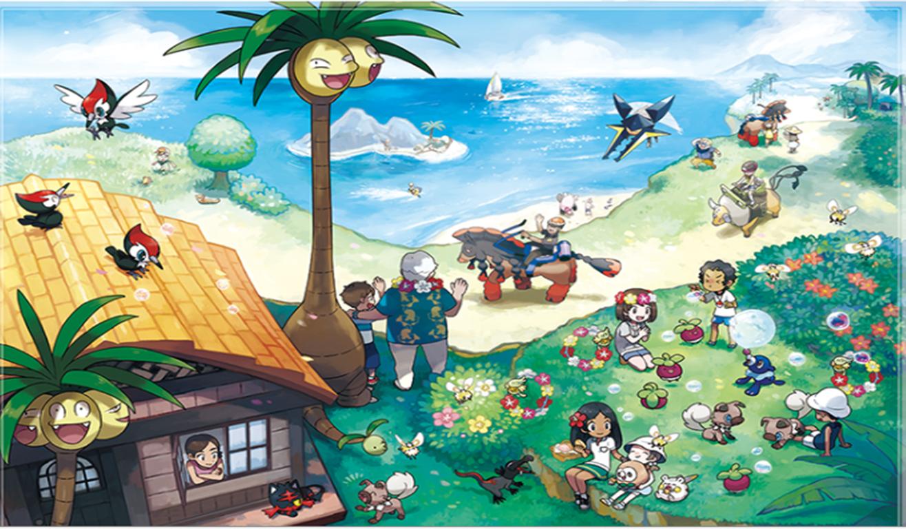 Sims 4 Cute Wallpaper Pok 233 Mon Sun Moon 3ds E As Melhores Alola Forms
