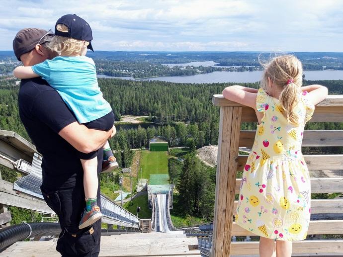Matti Nykäsen mäki Jyväskylän Laajavuoressa