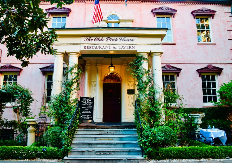 The Olde Pink House #1 of 12 Things To Do in 24 Hours in Savannah, GA:  | Ms. Toody Goo Shoes