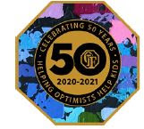 OIF 50th Anniversary Pin Hansen Artwork