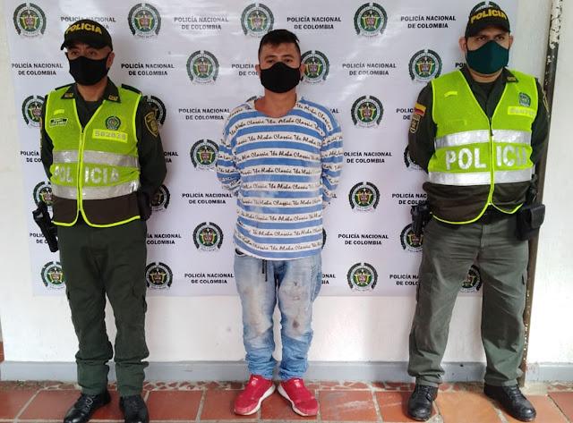 hoyennoticia.com, Uno de 'Los Pelusos' señalado del asesinato de dos líderes sociales cayó en San Alberto