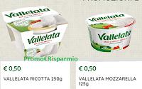 Logo Vallelata : coupon mozzarella e ricotta da stampare