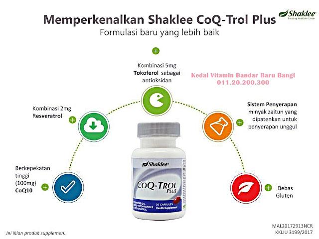 CoQ-Trol Plus Shaklee