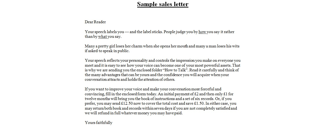 Beautiful Sales Letter Format Contemporary  Best Resume Examples