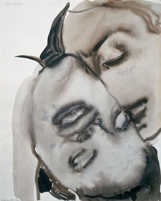Marlene Dumas The Passion, 1994 Gouache and ink on paper 61 x 49 cm