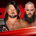 United States Championship Match anunciada para o próximo episódio do RAW