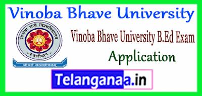 VBU Hazaribag Vinoba Bhave University B.Ed Apply Application 2019 Notification