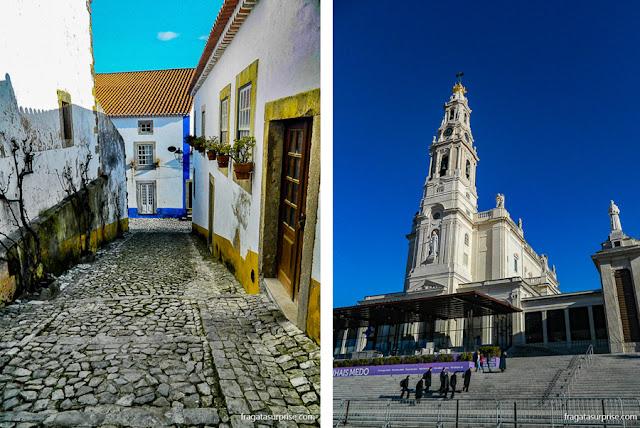 Portugal: Óbidos e Santuário de Fátima