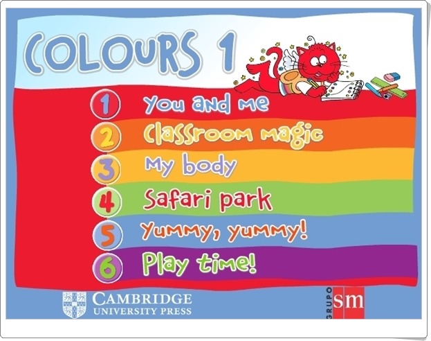 """Colours 1"" de Editorial SM y Cambridge University Press"