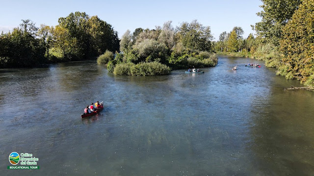 parco del mincio canoa bici