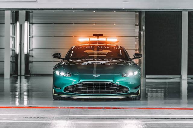 F1 safety car 2021