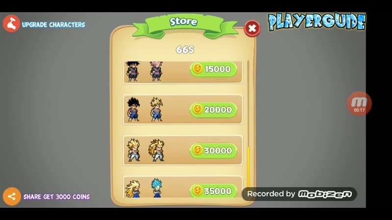 Battle of Saiyan Z Warriors Mugen Apk Dragon Ball Z