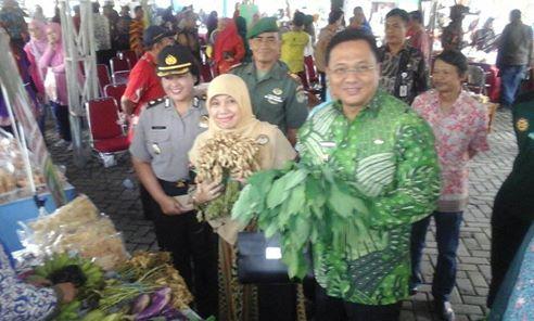 Pasar Tani Tunjukkan Depok Miliki Potensi Pertanian