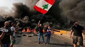 لبنان, الحريرى, استقالة الحريرى, رئاسة الحكومة, انهيار الاقتصاد, حزب الله يهاجم المحتجين,