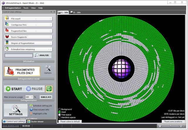 Screenshot DiskTrix UltimateDefrag 6.0.28.0 Full Version