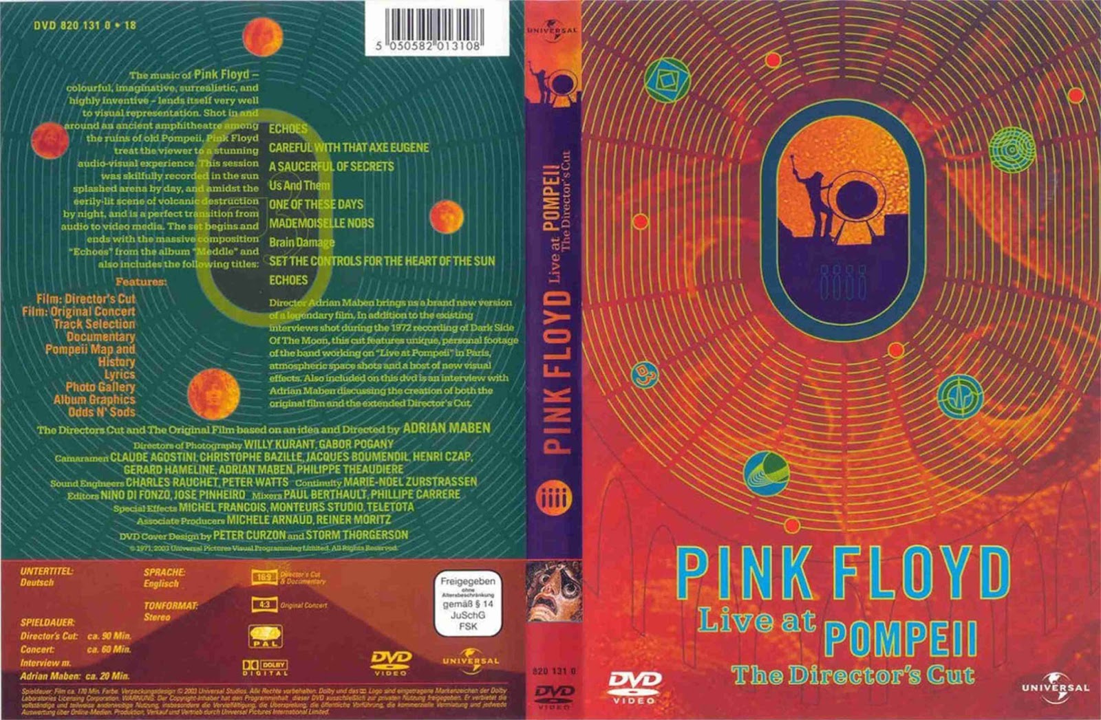 fan-pit: Pink Floyd - Live at Pompeii (Director's Cut) (2003)