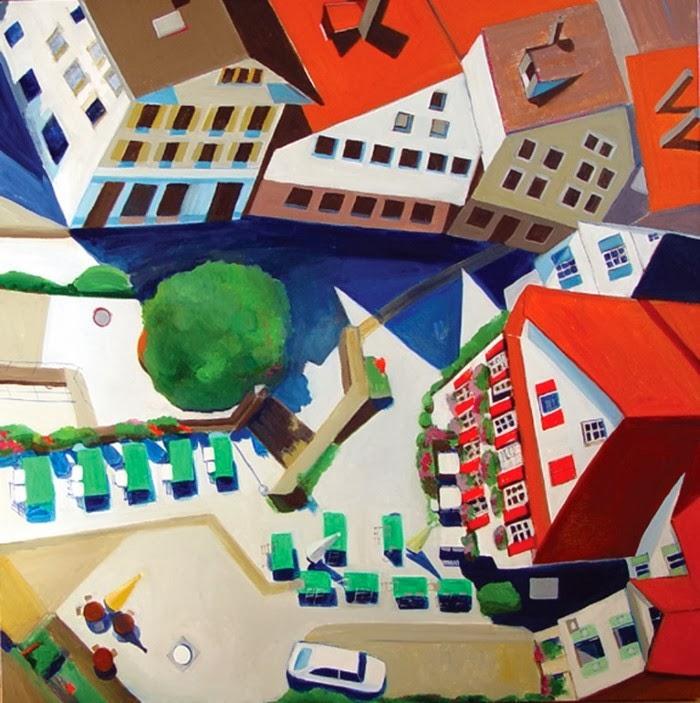 Виды с воздуха. Toni Silber-Delerive