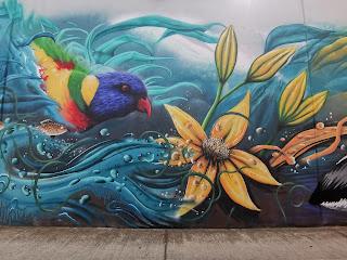 Werribee Street Art by Mike Makatron, Nitsua & Chuck