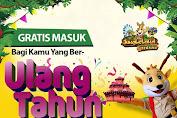 Jungleland Promo Ulang Tahun GRATIS Masuk Dan Main Sepuasnya!