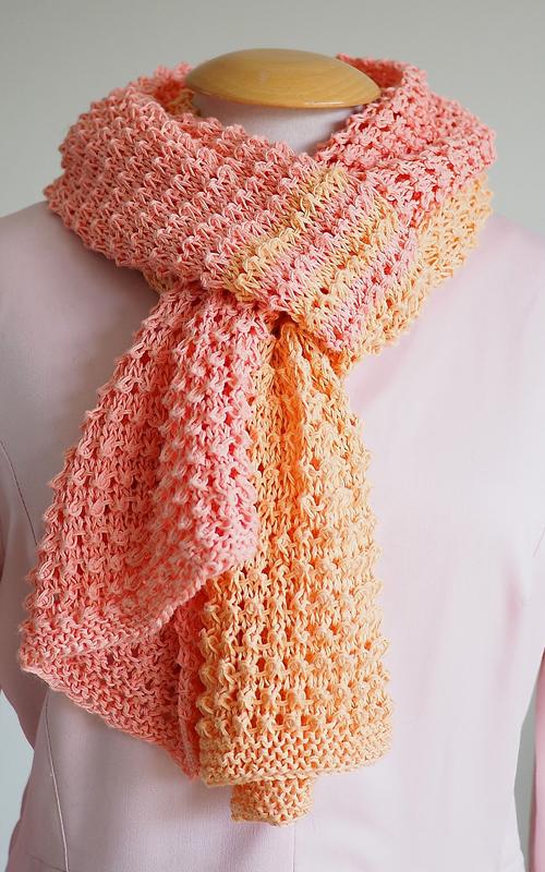Primavera Scarf - Free Knitting Pattern